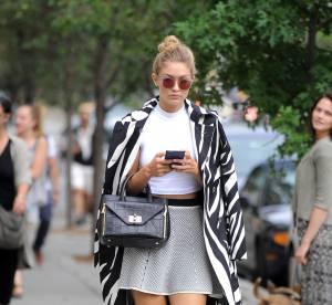 Gigi Hadid : Casual/chic pendant la Fashion Week de New York, un look à shopper