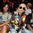 Rita Ora a fait mouche en front row du défilé Jeremy Scott à la Fashion Week de New York.