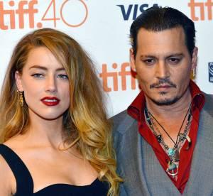 Johnny Depp et Amber Heard, amoureux : baiser passionné au Festival de Toronto