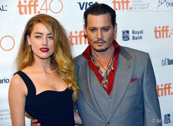 Johnny Depp et Amber Heard, couple glamour au Festival de Toronto.
