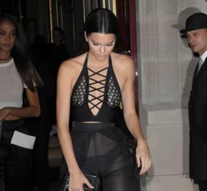 Kendall Jenner : les fesses à l'air avec Gigi Hadid dans les rues de Paris