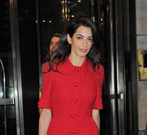 Amal Clooney : l'épouse de George impose son style en Dolce & Gabbana