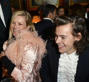Kate Moss : le top model rend les One Direction ultra cool