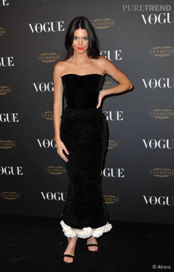 Kendall Jenner a osé la robe sirène et elle a bien fait !