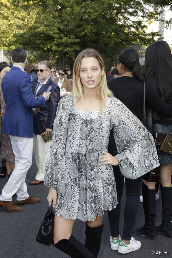Ilona Smet illumine la Fashion Week