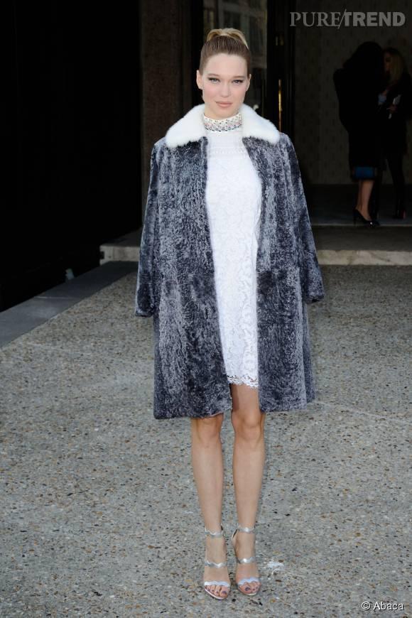 """Léa Seydoux, une future James Bond girl """"différente"""" des précédentes."""