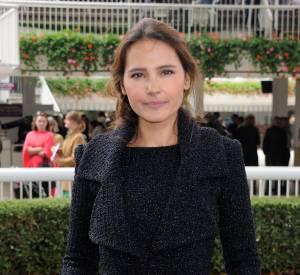 Virginie Ledoyen était l'ambassadrice du 94ème Prix de l'Arc de Triomphe.
