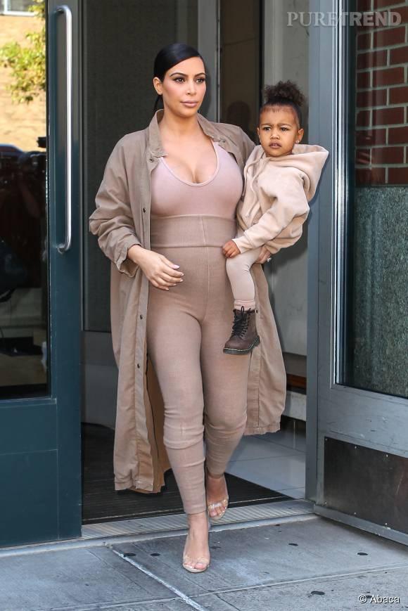 Kim est déjà maman de la petite North.
