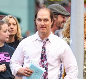 """Matthew McConaughey ne ressemble plus à l'homme que l'on connaît sur le tournage de son dernier film """"Gold""""."""