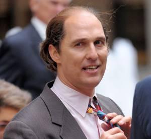 Matthew McConaughey : presque chauve et gros, il est méconnaissable