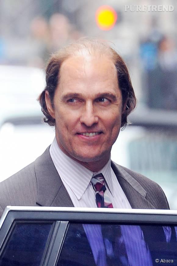 Mais où est passé le séduisant Matthew McConaughey ?