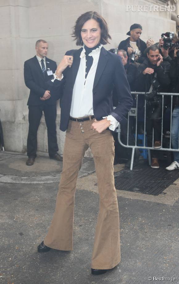 In s de la fressange ressort son pantalon pattes d 39 eph - Chez ines de la fressange ...