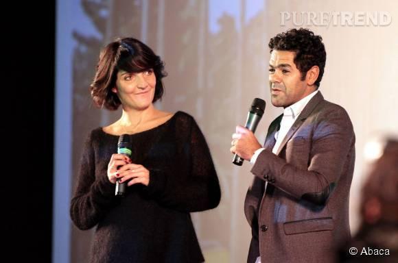 Avec Jamel Debbouze, elle forme un duo explosif. Ils sont très amis.
