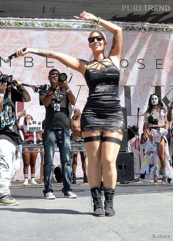 Amber Rose en profite pour régler ses comptes avec Kanye West et Wiz Khalifa.