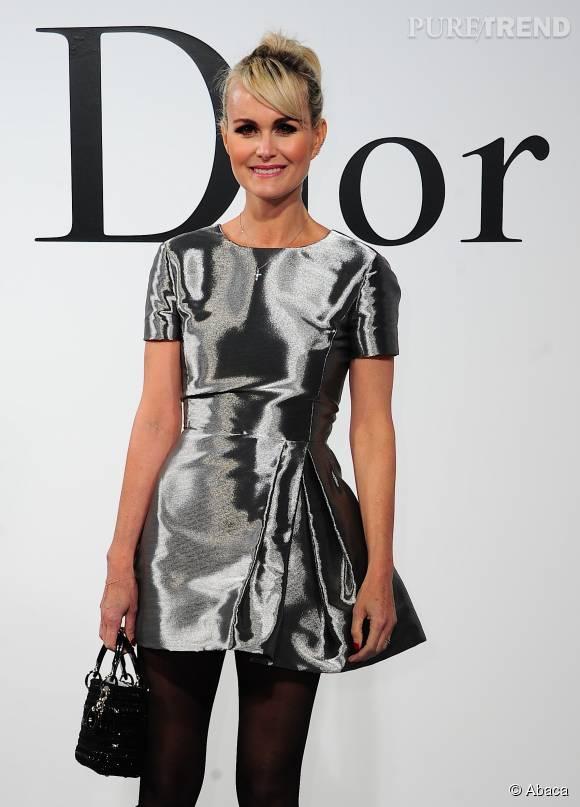Laeticia Hallyday, une véritable adepte de la maison Dior.