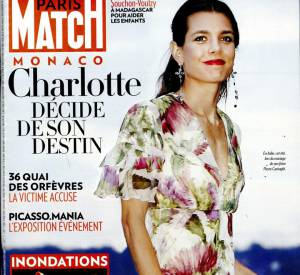 Carine Roitfeld se confie dans le magazine Paris Match de la semaine du 8 octobre 2015.