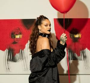 """Rihanna : ultra sexy pour dévoiler la pochette de son album """"Anti"""""""