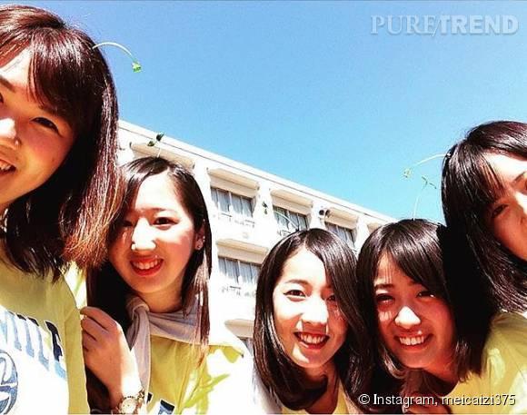 Toutes ces Chinoises sont fans de la tendance des plantes à cheveux.