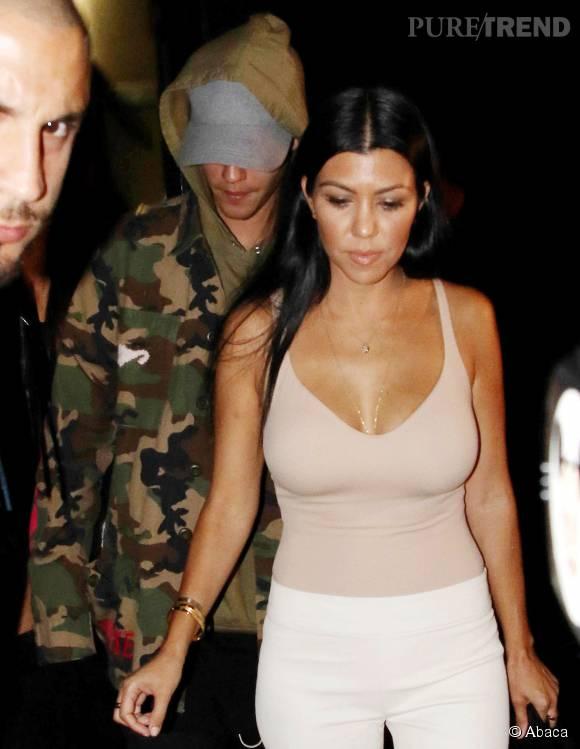 Kourtney Kardashian se sert de Justin Bieber pour rendre jaloux son ex, Scot Disick.