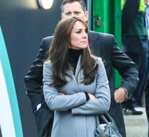 Kate Middleton : col roulé et talons hauts, une supporter glamour au stade