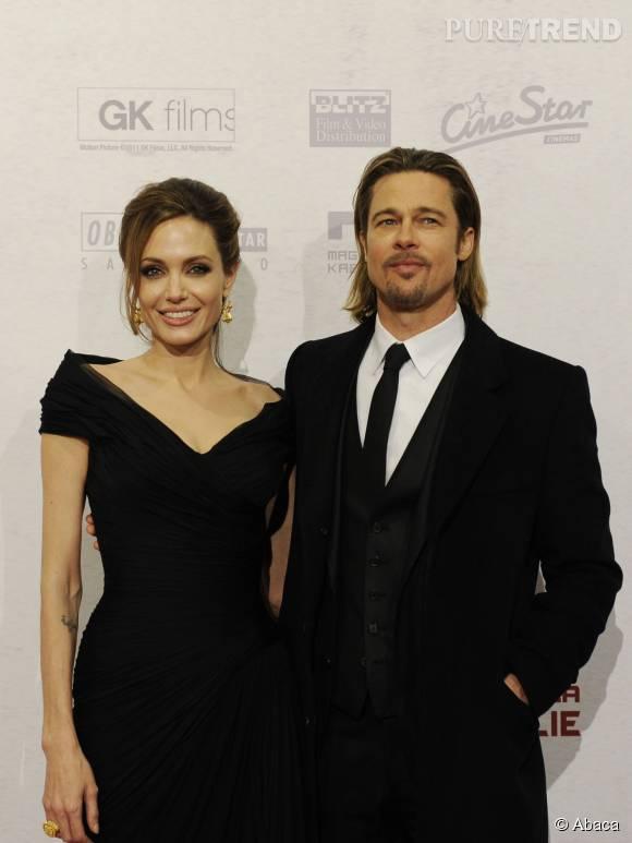 Angelina Jolie et Brad Pitt, un couple en danger.