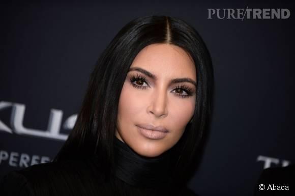 Kim Kardashian utilise un produit spécifique pour faire pousser ses cils.