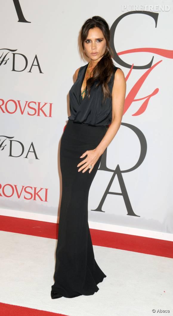Victoria Beckham, sublime maman de 41 ans.