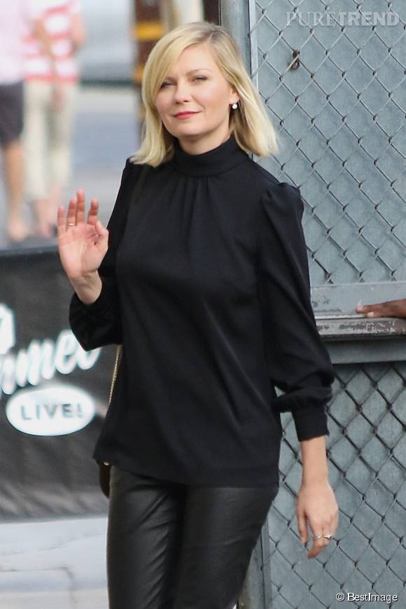 Kirsten Dunst, une élégante lady in black.
