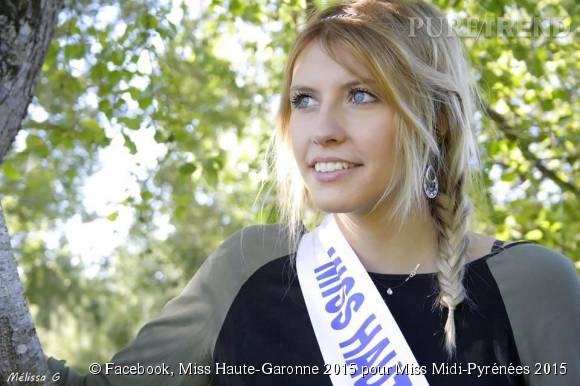 Julie Taillart, Miss Haute-Garonne 2015, n'a pas pu participer à l'élection de Miss Midi-Pyrénées 2015.