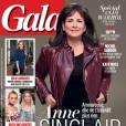 Anne Sinclair, sexy en couverture de  Gala .