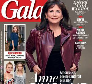 Anne Sinclair, sexy en couverture de Gala.