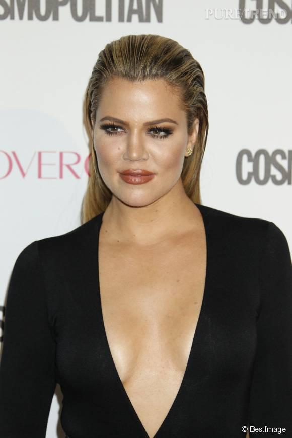 Khloe Kardashian le 12 octobre lors de la soirée Cosmopolitan. Quelques heures plus tard, elle apprenait que son ex-mari Lamar Odom est dans le coma.