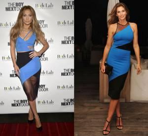 Jennifer Lopez vs Cindy Crawford : la robe sexy David Koma