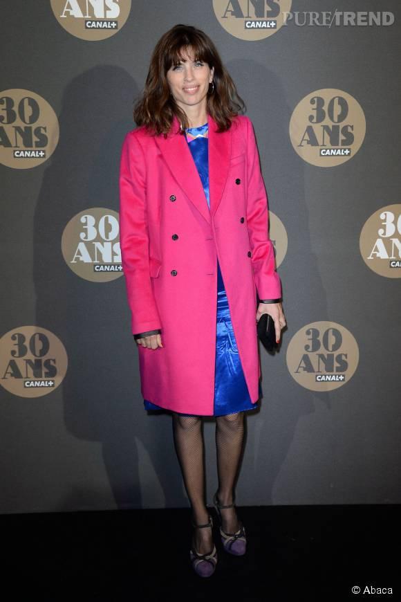 Maïwenn dans un look coloré pour les 30 ans de  Canal+ .