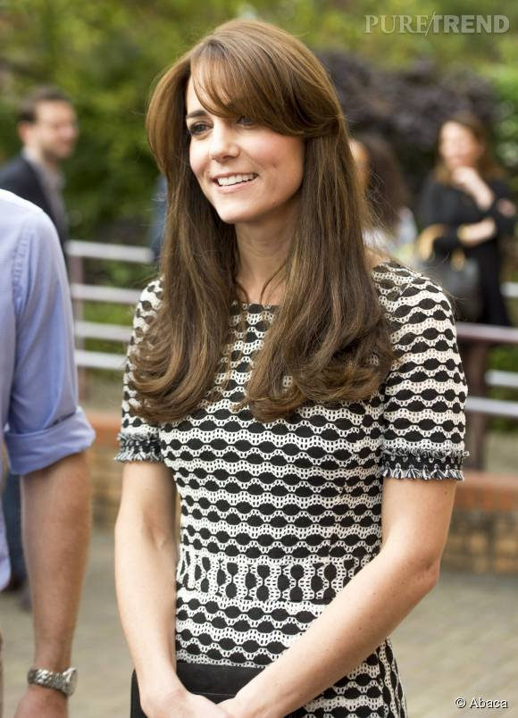 Kate Middleton radieuse avec sa nouvelle coupe de cheveux.