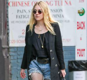 Dakota Fanning, son look grunge mais chic à shopper de toute urgence !