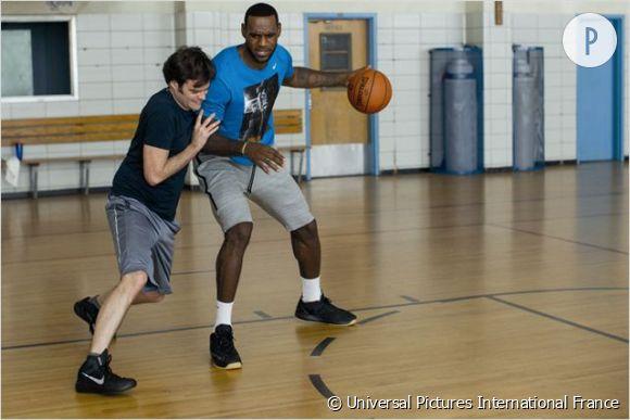 Le meilleur ami d'Aaron s'appelle LeBron James, basketteur NBA de son état.
