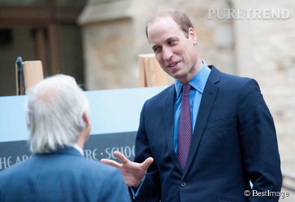 Le prince William a confié quelques infos sur le caractère de ses enfants durant sa visite à l'université de Cambridge.