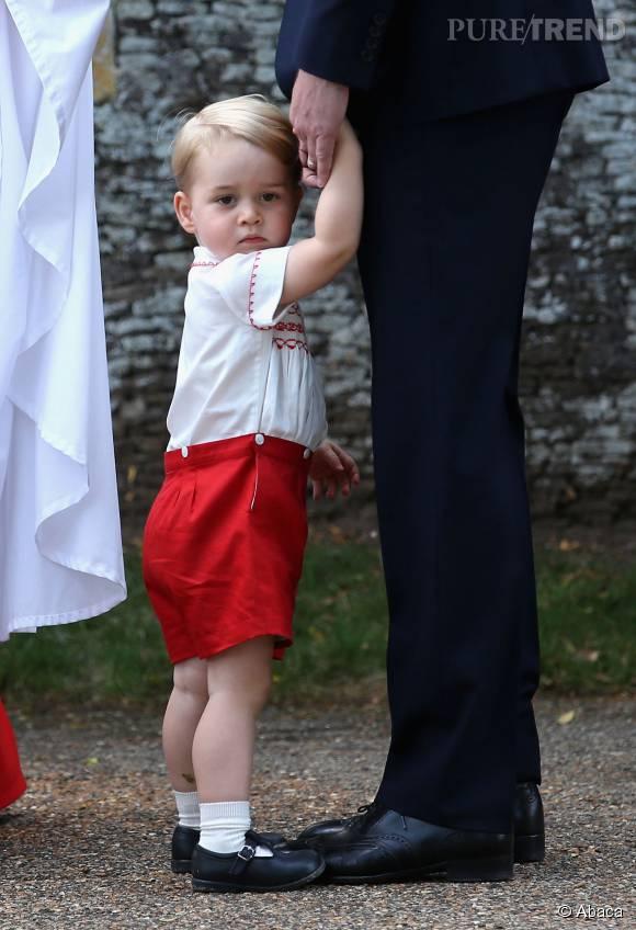 """Le prince George serait un garçonnet très """"vif"""" d'après son père. Une manière sympathique de dire qu'il est infernal ?"""