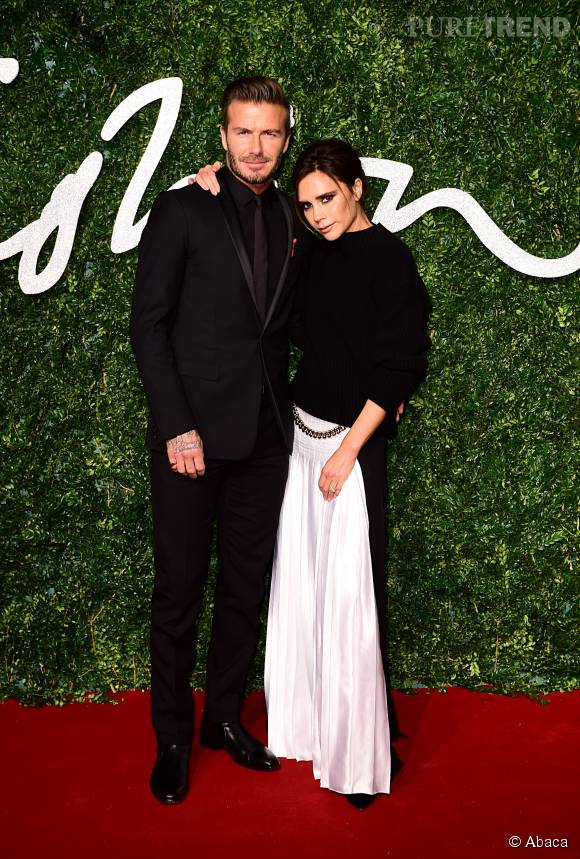 "Victoria Beckham a décroché le prix de ""Designer of the Year"" lors des British Fashion Awards 2014."