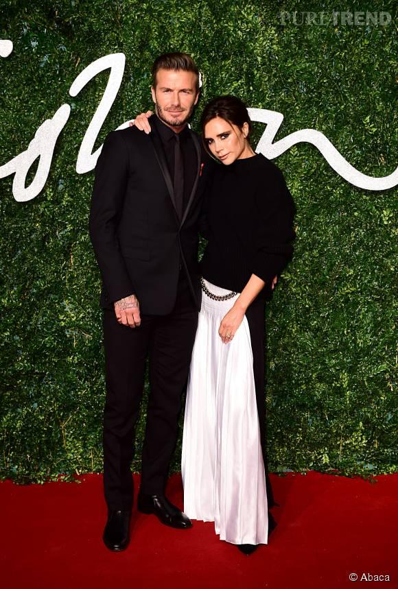 """Victoria Beckham a décroché le prix de """"Designer of the Year"""" lors des British Fashion Awards 2014."""