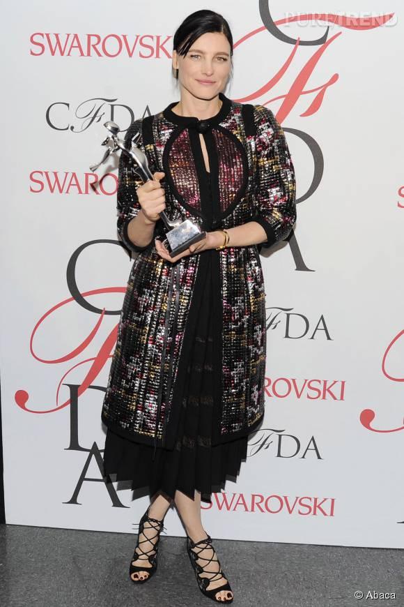 """Tabitha Simmons nominée dans la catégorie """"Accessory Designer""""."""
