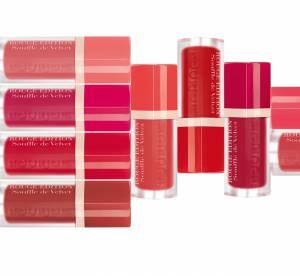 Rouge Edition Souffle de Velvet : le nouveau rouge mat printanier de Bourjois