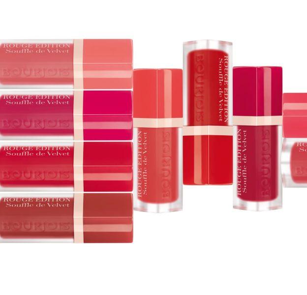 Découvrez la gamme Rouge Edition Souffle de Velvet, une nouveauté signée Bourjois, à découvrir sur Puretrend.