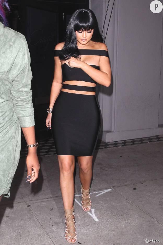 Kylie Jenner Robe Les 5 Looks Les Plus Sexy De Kylie Jenner En 2015 Puretrend