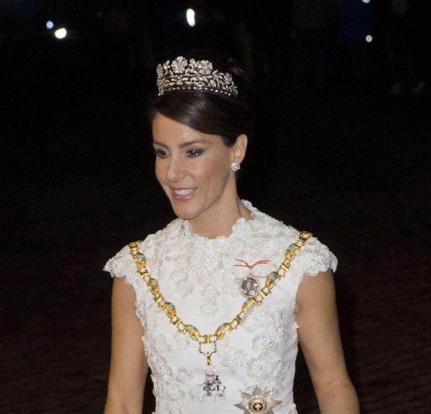 La princesse Marie et le prince Joachim de Danemark lors de la cérémonie du Nouvel An, le 1er janvier dernier.