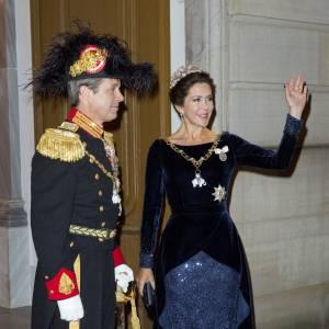 Mary de Danemark et son mari le prince héritier Frederik.