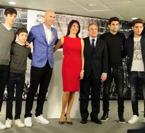 Zidane Zidane : la touche glamour du Real de Madrid !