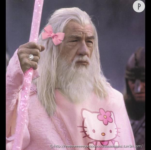 Gandalf, un magicien si sensible.