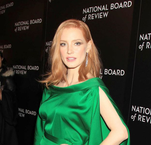 Jessica Chastain, sublime mardi soir lors du National Board of Review Awards Gala, à New York.